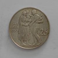 ČSR 25 Koruna 1955 Osvobození