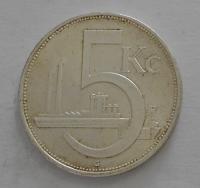 ČSR 5 Koruna 1929