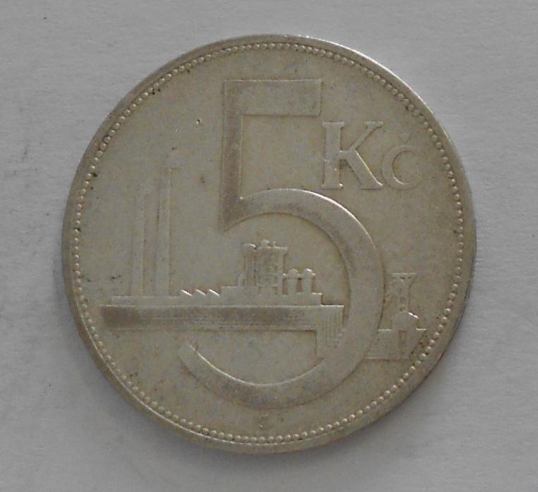 ČSR 5 Koruna 1932