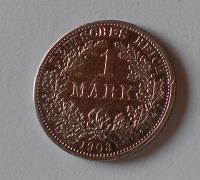 Německo 1 Marka 1903 F