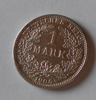 Německo 1 Marka 1906 D