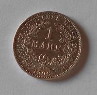 Německo 1 Marka 1906 E