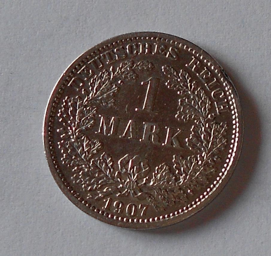 Německo 1 Marka 1907 D