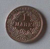 Německo 1 Marka 1907 F