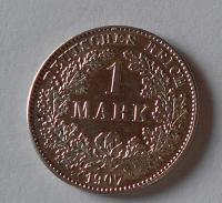Německo 1 Marka 1907 G