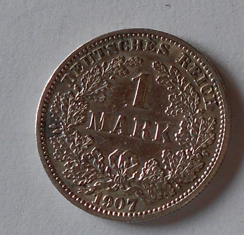 Německo 1 Marka 1907 J