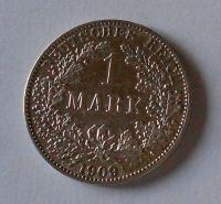 Německo 1 Marka 1909 A