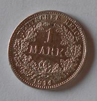 Německo 1 Marka 1914 D