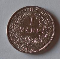 Německo 1 Marka 1914 J