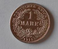 Německo 1 Marka 1915 G