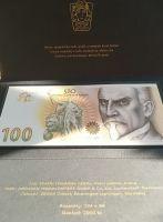 Oceněný nepřijatý návrh pamětní bankovky 100Kč 2019 SPECIMEN - Alois Rašín, originální balení STC