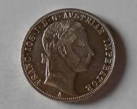 Rakousko 1 Gulden/Zlatník 1860 A stav