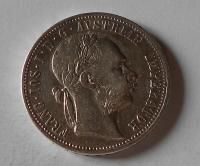 Rakousko 1 Gulden/Zlatník 1876