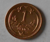 Rakousko 1 Haléř 1910 stav