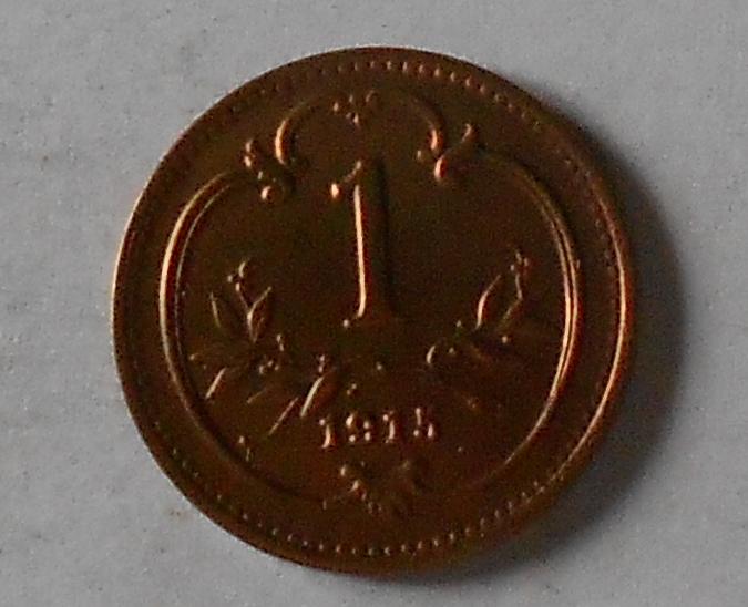Rakousko 1 Haléř 1915 stav