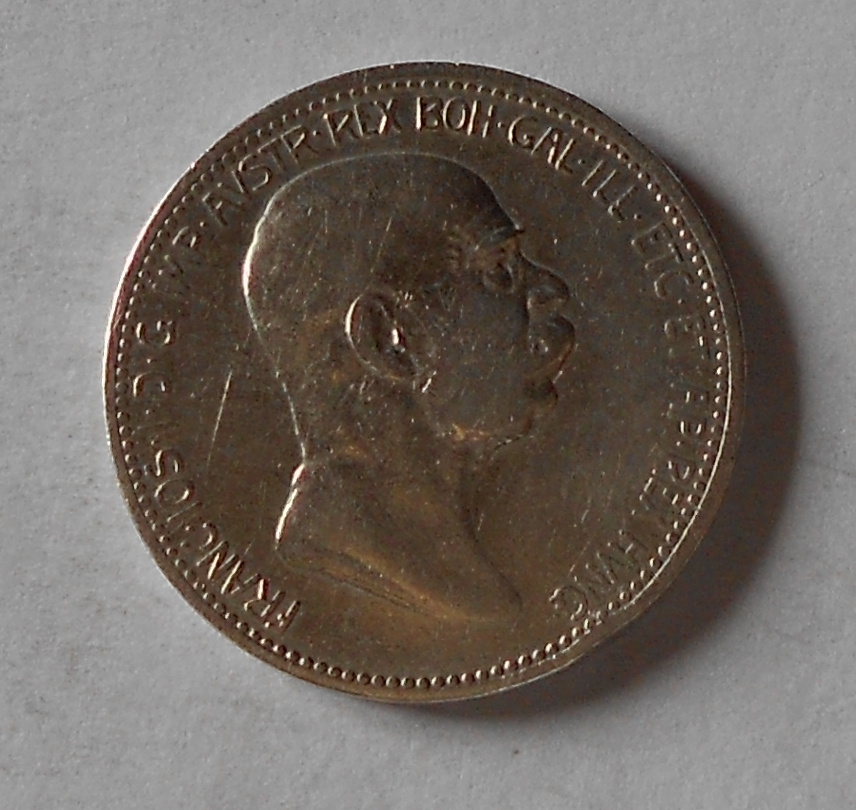 Rakousko 1 Koruna 1849-1908