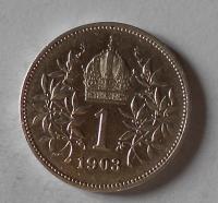 Rakousko 1 Koruna 1903 stav