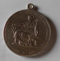 Rakousko 2 Gulden/Zlatník 1879 Stříbrná svatba, dobové ouško