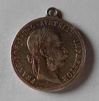 Rakousko 2 Gulden/Zlatník 1888 dobové ouško