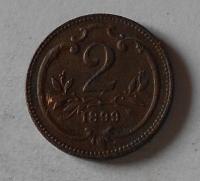 Rakousko 2 Haléř 1899