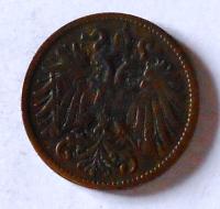 Rakousko 2 Haléř 1902