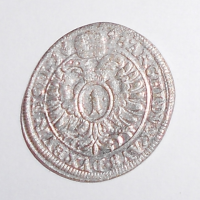 Slezsko – Vratislav 1 Krejcar 1698 Leopold I.