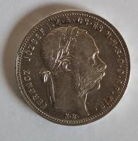 Uhry 1 Gulden/Zlatník 1880 KB