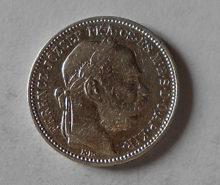 Uhry 1 Koruna 1896 KB