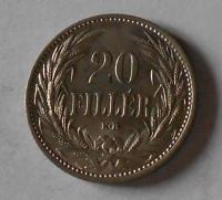 Uhry 20 Filler 1914 KB stav