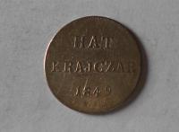 Uhry 6 Krejcar 1849 NB