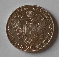 Čechy 20 Krejcar 1844 C Ferdinand V.