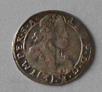 Čechy – Kutná Hora 3 Krejcar 1670 Leopold I.