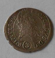 Čechy – Praha 3 Krejcar 1695 Leopold I.