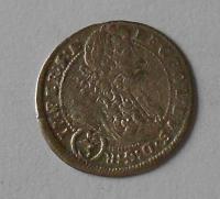 Čechy – Praha 3 Krejcar 1696 Leopold I.