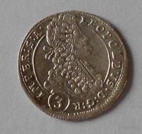 Čechy – Praha 3 Krejcar 1700 Leopold I. stav