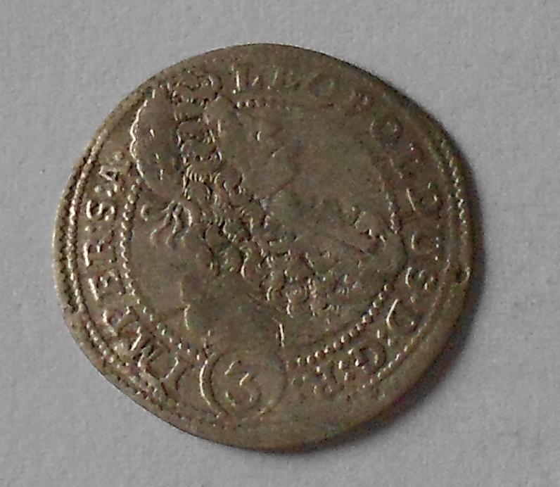 Čechy – Praha 3 Krejcar 1701 Leopold I.