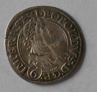 Čechy – Praha 6 Krejcar 1665 Leopold I.