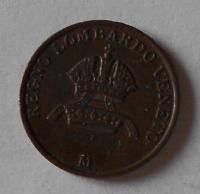 Rakousko 1 Centesimi 1846 M Ferdinand V. pěkný