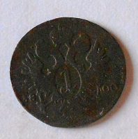 Rakousko 1 Krejcar 1800 F František II.