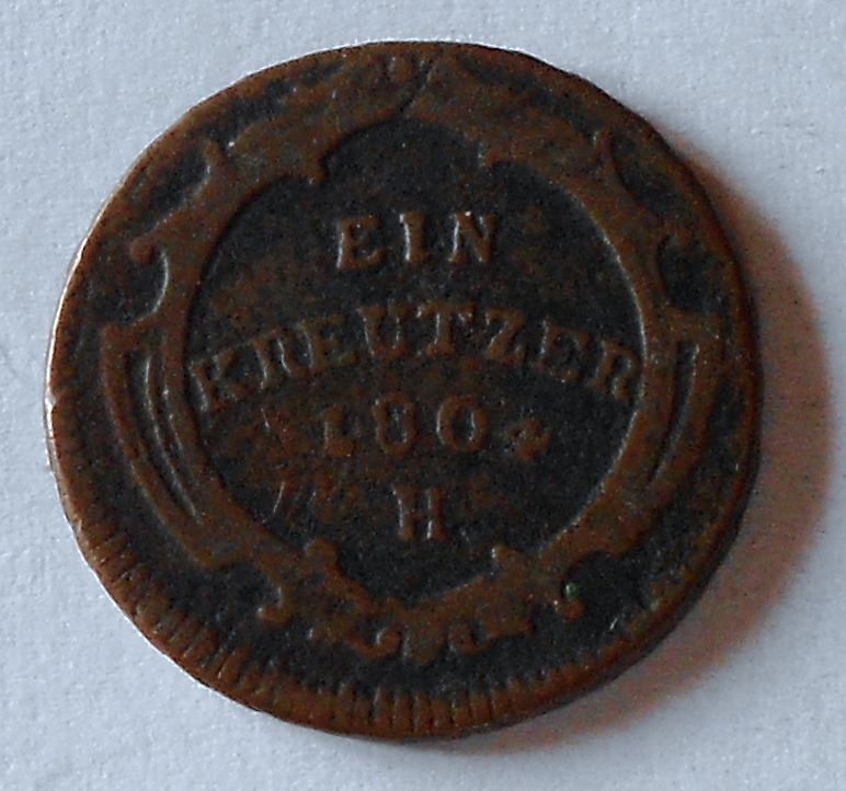Rakousko 1 Krejcar 1804 H František II.