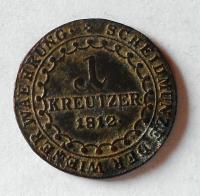 Rakousko 1 Krejcar 1812 A František II.