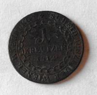 Rakousko 1 Krejcar 1812 G František II.