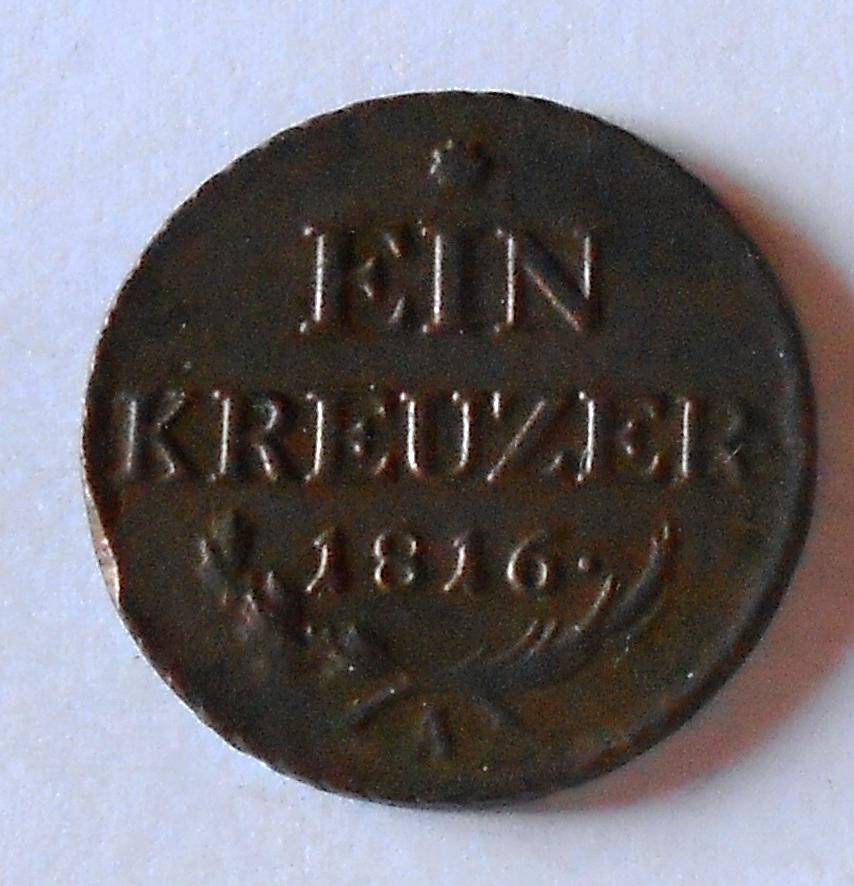 Rakousko 1 Krejcar 1816 A František II.