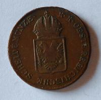Rakousko 1 Krejcar 1816 G František II. pěkný
