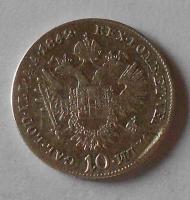 Rakousko 10 Krejcar 1842 E Ferdinand V.