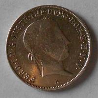 Rakousko 20 Krejcar 1843 S Ferdinand V. stav