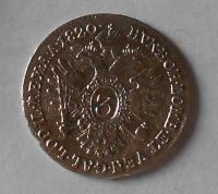 Rakousko 3 Krejcar 1820 A František II.