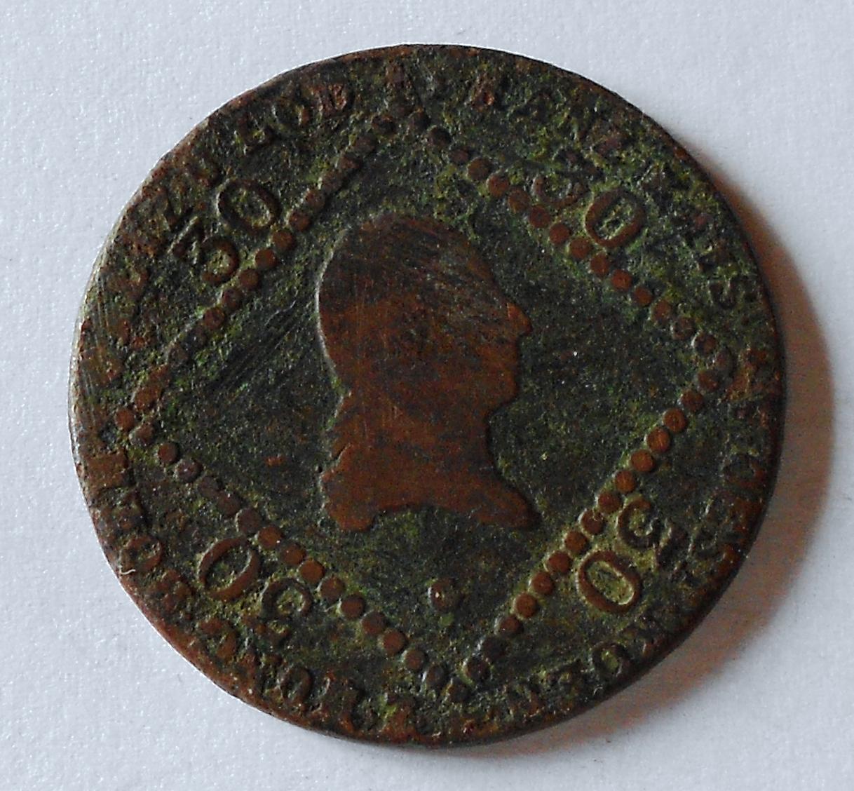 Rakousko 30 Krejcar 1807 G František II.