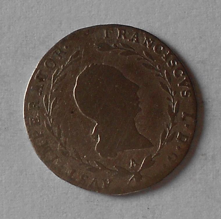 Rakousko 5 Krejcar 1818 A František II.