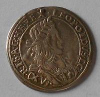 Rakousko – Vídeň 15 Krejcar 1661 Leopold I.